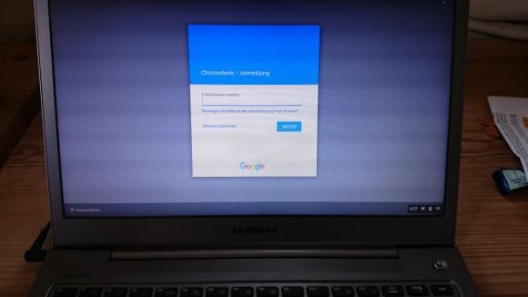 CloudReady bei Google anmelden