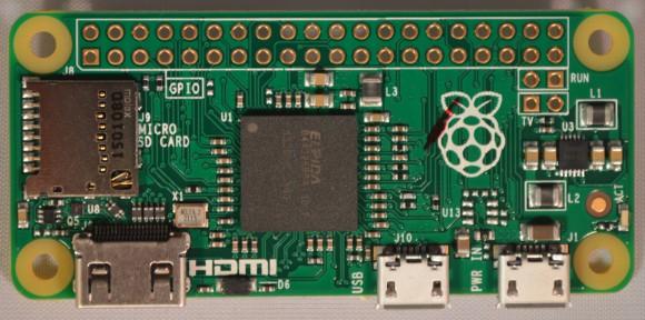 Raspberry Pi Zero (Quelle: raspberrypi.org)