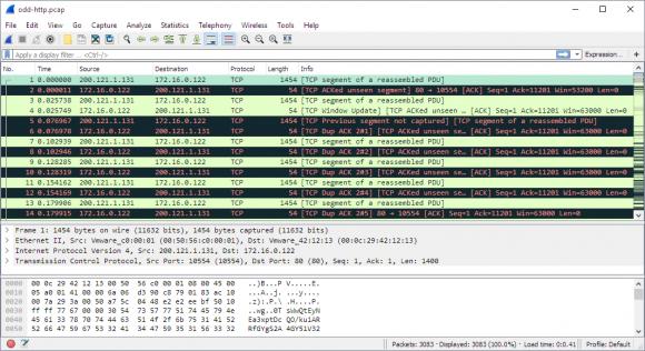 Wireshark 2 - sieht gar nicht so anders aus (Quelle: wireshark.org)