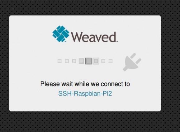 Weaved verbindet sich mit Raspberry Pi 2
