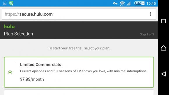 Hulu würde mich reinlassen