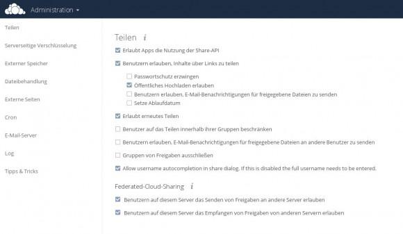 Das Training befasst sich mit der Administration von ownCloud 8