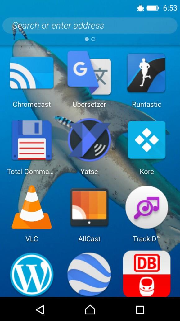 Zugriff auf die Android Apps