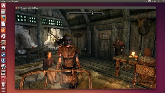 Skyrim unter CrossOver 14 (Quelle: codeweavers.com)