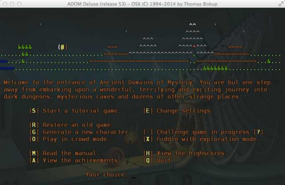 ADOM - ASCII ... (Quelle: store.steampowered.com)