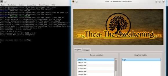 Thea: The Awakening - Dateien startfähig machen