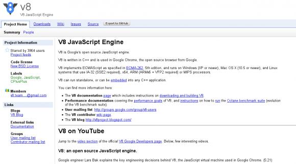 Exploit möglich: Chrome nutzt die JavaScript V8 Engine und darin liegt derzeit der Fehler