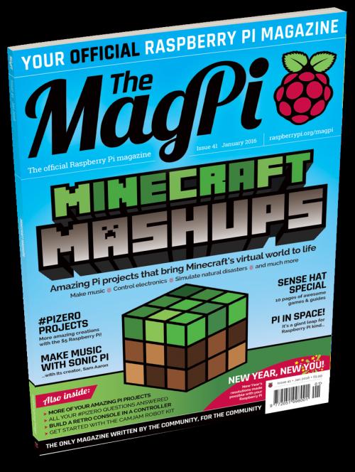 MagPi Ausgabe 41 ist da