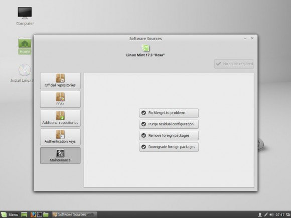 Linux Mint 17.3: Software-Quellen