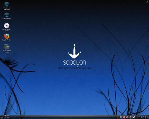 Von Sabayon 15.12 gibt es ebenfalls eine KDE-Variante
