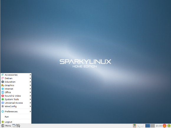 "Sparky Linux 4.2 ""LXDE"" (quelle: sparkylinux.org)"