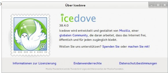 Tails 1.8: Icedove ersetzt Claws Mail