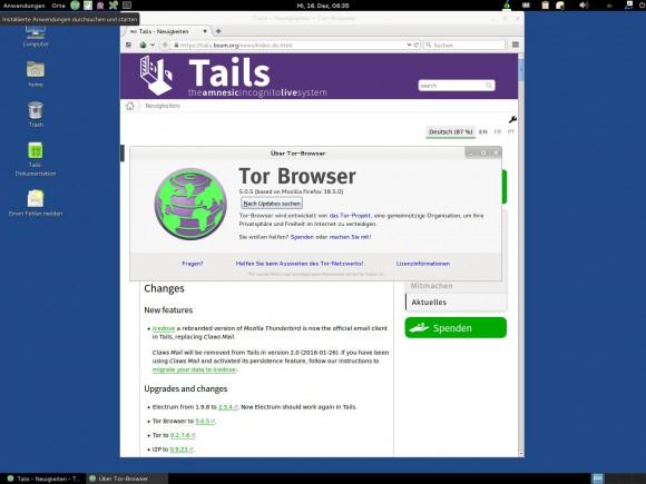 Nach Tor Browser 5.0.5 kommt sofort 5.0.6