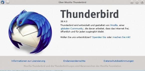 Thunderbird vielleicht bald ohne Mozilla