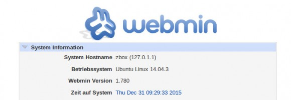 Webmin 1.780