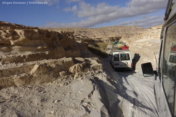 Auf dem Weg zum Wadi Zalaga