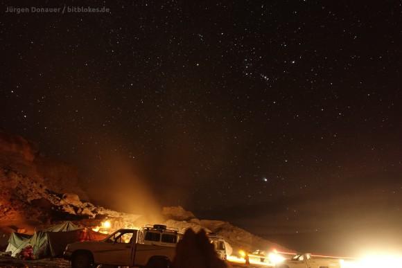 Sternenklare Nacht mit Orion am Firmament