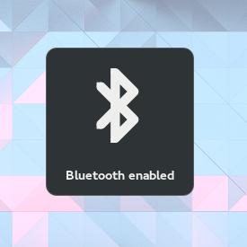 Bluetooth aktiviert (Quelle: hadess.net)