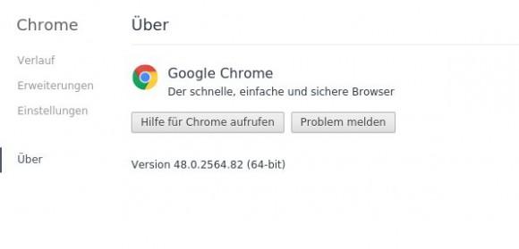 Chrome 32-Bit muss weichen, die 64-Bit-Version bleibt natürlich
