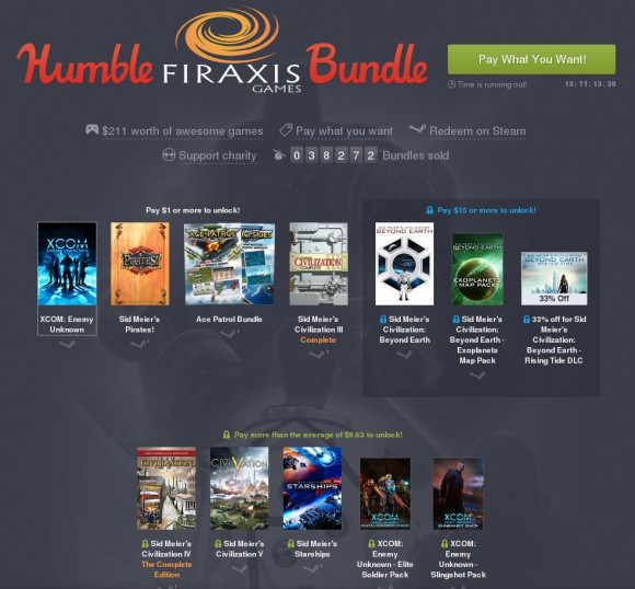 Humble Fireaxis Bundle