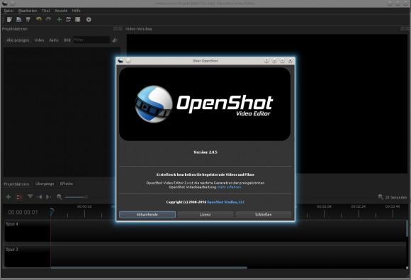 OpenShot 2.0.5 unter Kubuntu 14.04 LTS