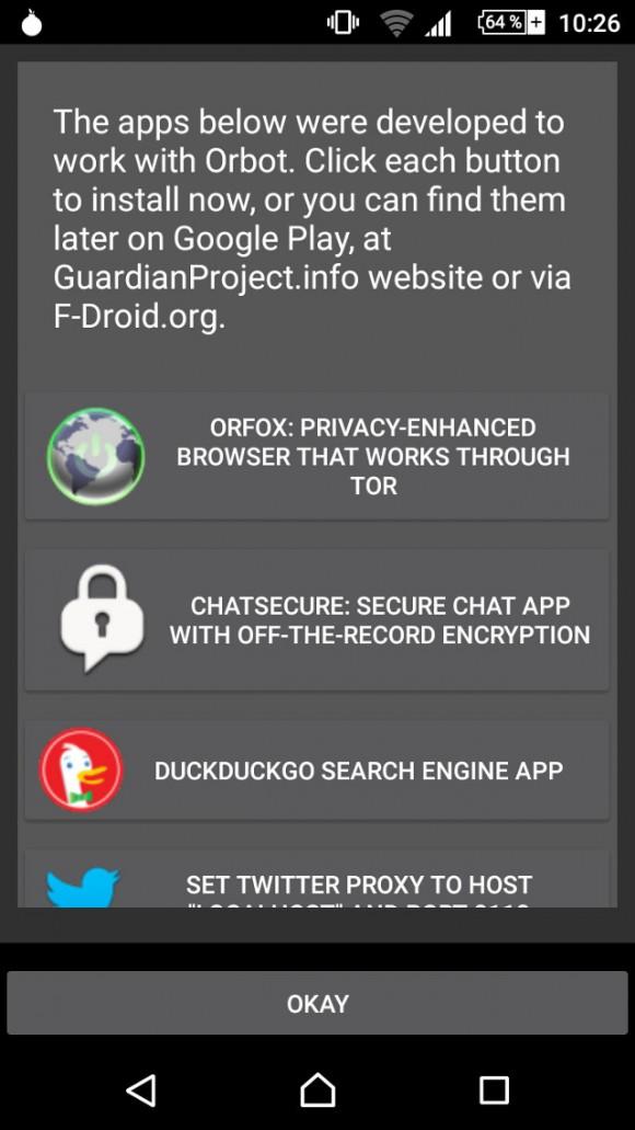 Unterstützte Apps
