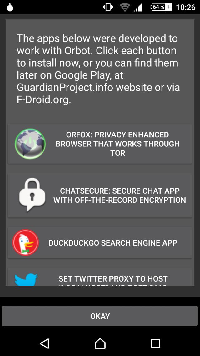 Orfox und Orbot: Wie man mit Android anonym via Tor surft