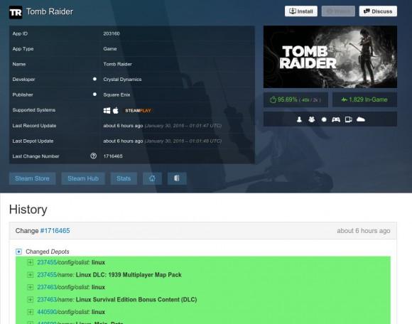 Tomb Raider bald für Linux?