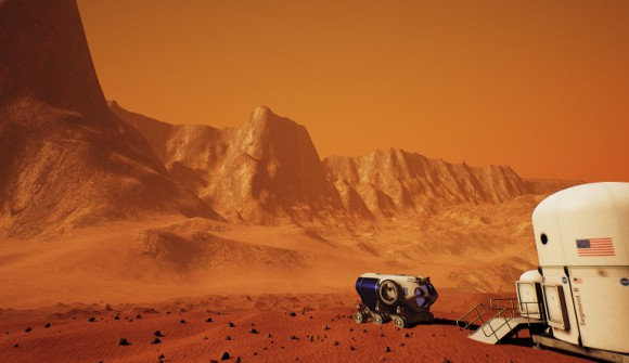 Mars 2030 - virtueller roter Planet (Quelle: unrealengine.com)
