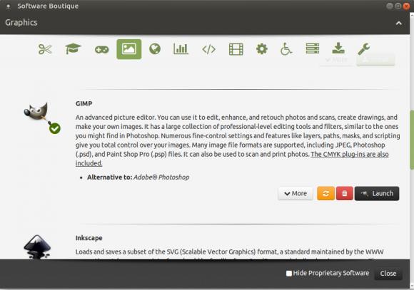 GIMP installiert