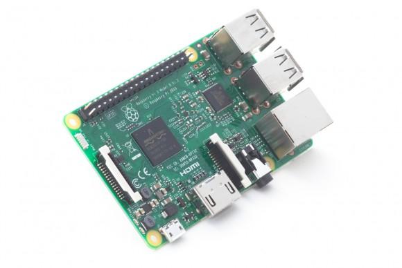 Raspberry Pi 3 (Quelle: raspberrypi.org)