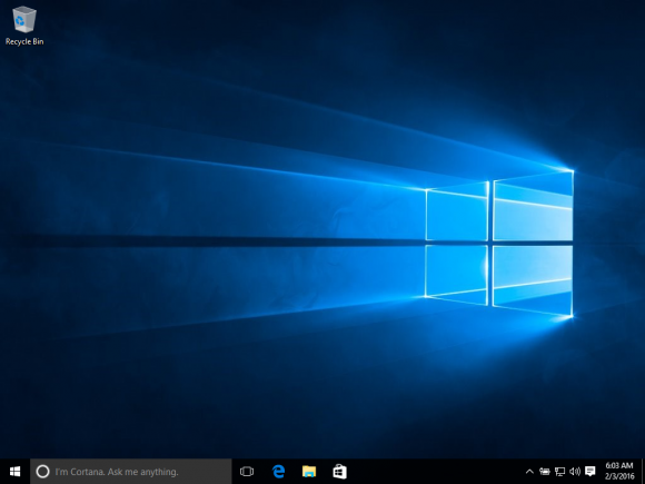 Windows 10 Enterprise in VM installiert (Quelle: voat.co)