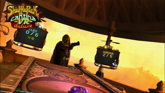 Shufflepuck Cantina Deluxe VR - irgendwie haperts es heute mit dem lesen, hier ist mir fälschlicherweise zunächst ein ganz böses englische Wort ins AUge gesprungen (Quelle: steampowered.com)