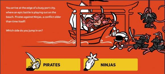 Piraten oder Ninjas?
