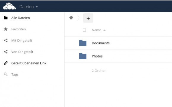 ownCloud 9 mit Tags