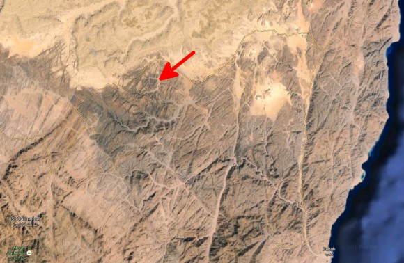 Wadi Marra befindet sich auf dem Weg zum Katharinenkloster