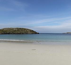 Strand bei Achmelvich in Schottland – 360° Panorama