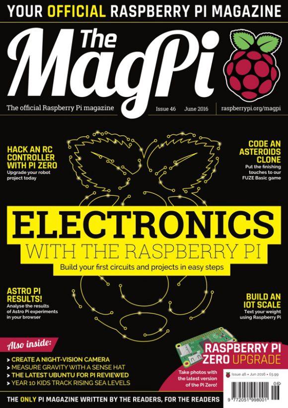 MagPi #46 ist ab sofort verfügbar