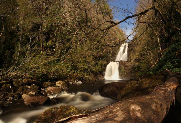 Rah Falls auf der Isle of Skye