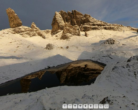Old Man of Storr: Screenshot aus dem 360° Panorama