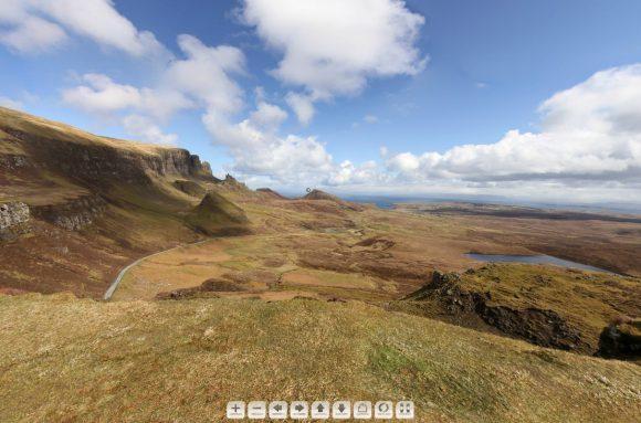 Quiraing: Vorchau auf das 360° Panorama