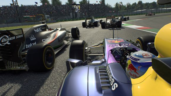 Bei F1 2015 kann es schon mal eng zugehen (Quelle: feralinteractive.com)