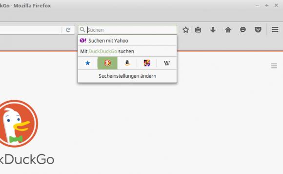 Suchmaschine bei Firefox umstellen