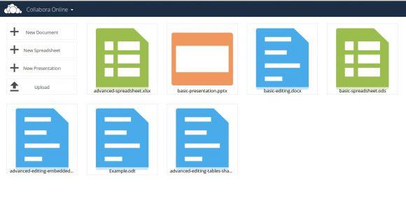 LibreOffice Online oder Collabora Online unter ownCloud