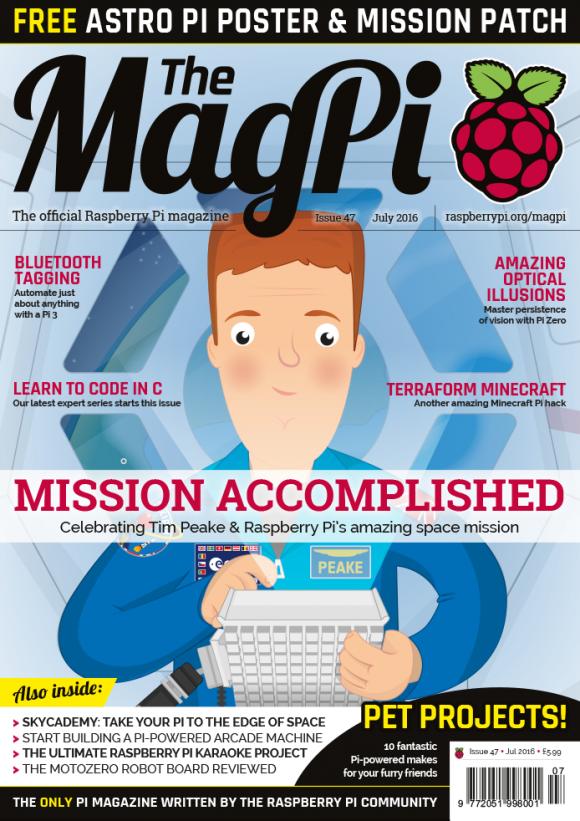 MagPi 47 ist da (Quelle: raspberrypi.org)