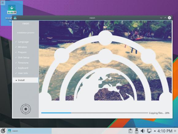 KDE neon User Edition 5.6 Installer (Quelle: community.kde.org)