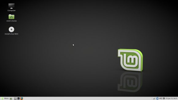 Linux Mint 18 MATE - Desktop