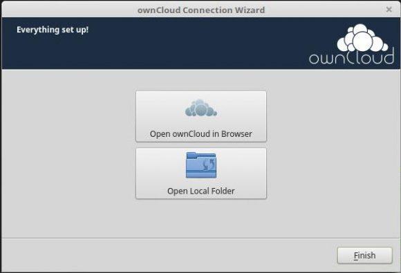 ownCloud Client für den Desktop