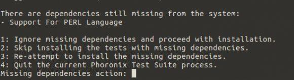 Benchmark: Fehler bei der Installation der Phoronix Test Suite