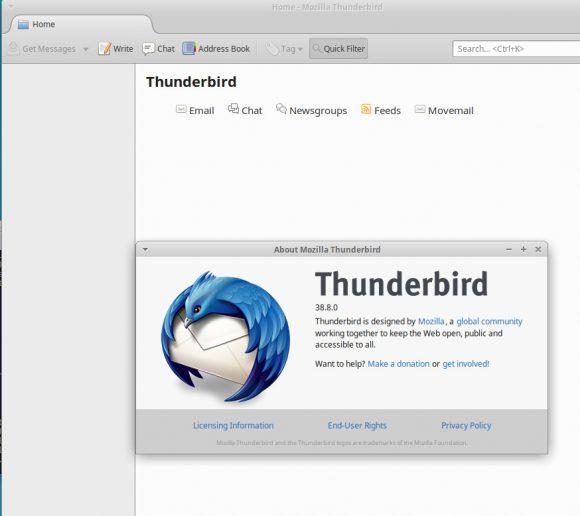 Thunderbird läuft - stürzt aber manchmal ab